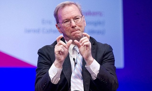 'Big data is so powerful, nation states will fight over it', predicts Alphabet chairman Eric Schmidt
