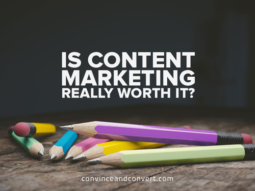 Don't get too excited about those content marketing leads