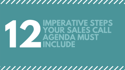 12 imperative steps your sales call agenda must include
