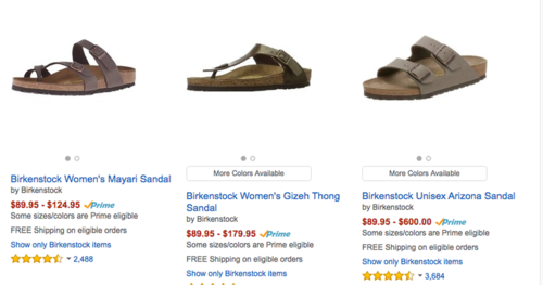 Birkenstock to stop selling via Amazon