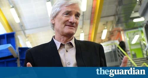 Dyson expansion plays down Brexit fears.