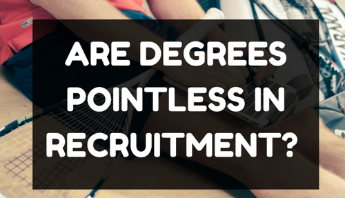 Do You Need a Degree To Work in Recruitment?