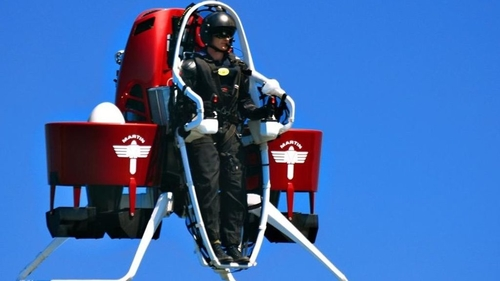 Jetpacks, the future of commuting