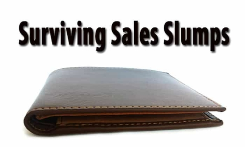 Surviving Sales Slumps