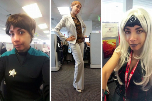 Employee Mocks Company Dress Code By Turning Up In Cosplay Each Day