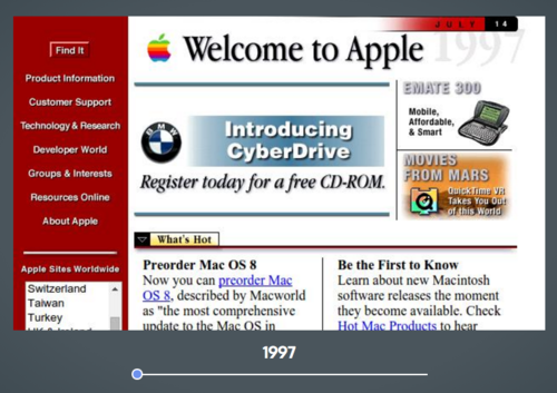 How Your Favorite Website Designs Have Changed Over the Years