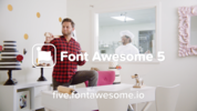 The name's Awesome, Font Awesome