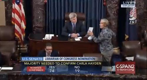 PRO-TEK Congratulates Our New Librarian of Congress