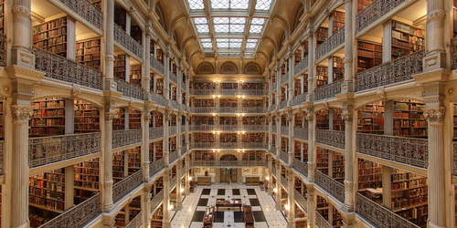 The Most Beautiful Library in Each US State