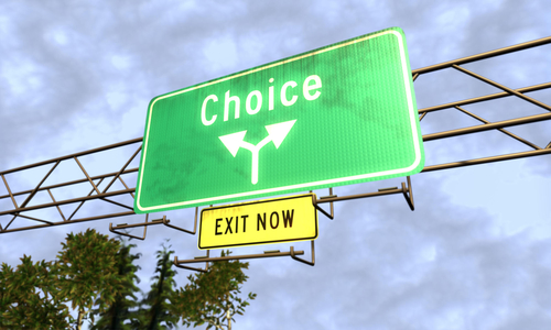 Choice and the Value of Change