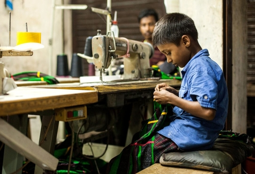 Children working in the Family Business