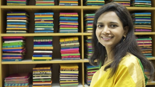 The Indian Woman Transforming The Family's Sari Firm