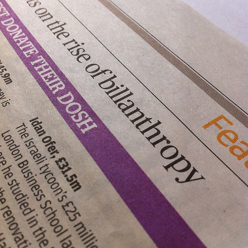 The Three Agendas In Philanthropy