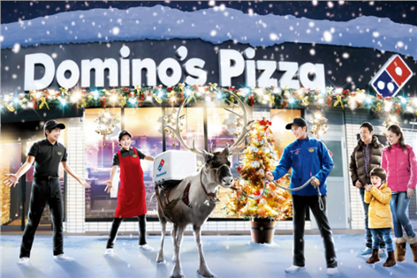 First drones, and now live reindeer, where will the trend of gimmicky branding end?
