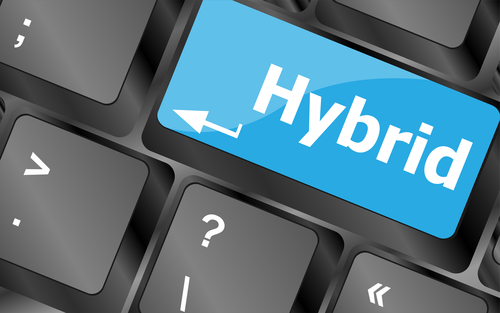 Six steps towards a hybrid data center model