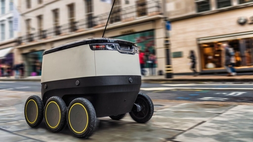 It's life, but not as we know it - Starship Technologies' robotic couriers land in Southwark