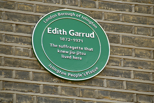 People's plaques putting Islington property on the map