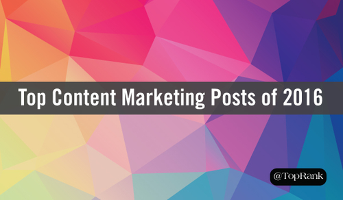 Effective Content Posts - 10 Good Examples from 2016