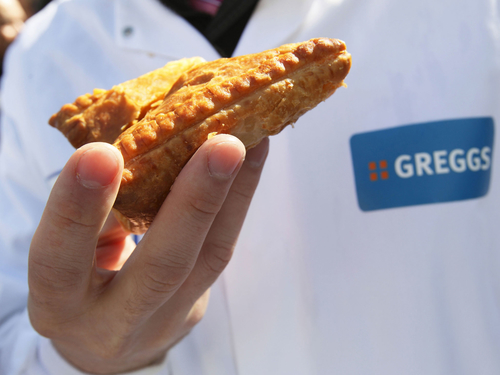 Greggs swap pies and pasties for salads and yoghurts