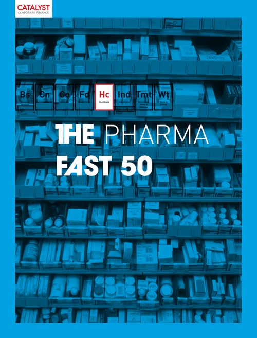 Introducing the Catalyst Pharma Fast 50