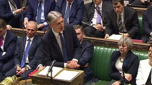 Election Pledges 'NIC' Hammond's Heels