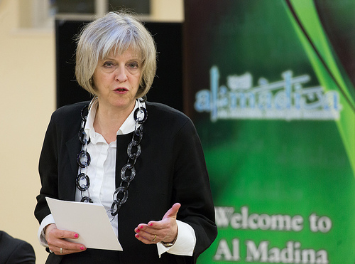 "Theresa May:  ""Let us restore people's faith and prove that capitalism can deliver a better future"