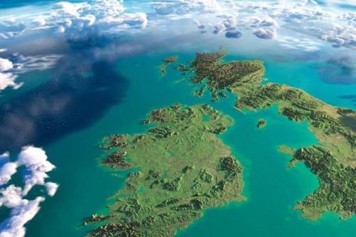 Change in Direction Across the Irish Sea