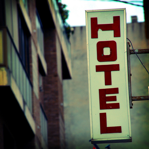 Hotel online booking – competition is improving…