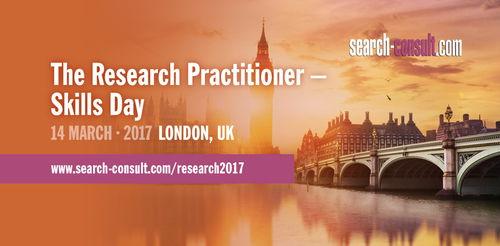 The 8th Research Practitioner to take place on 14 March 2017 in London