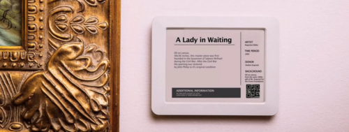 A smart museum label could save costs