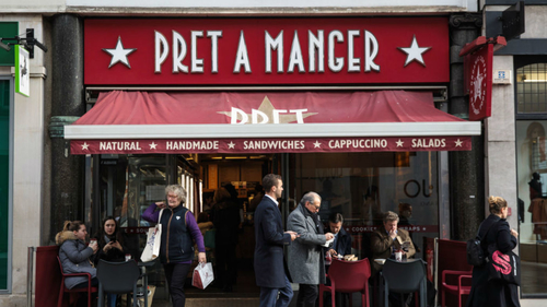 Pret warns of Brexit recruitment crisis