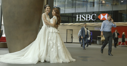 Would you walk your employee down the aisle?