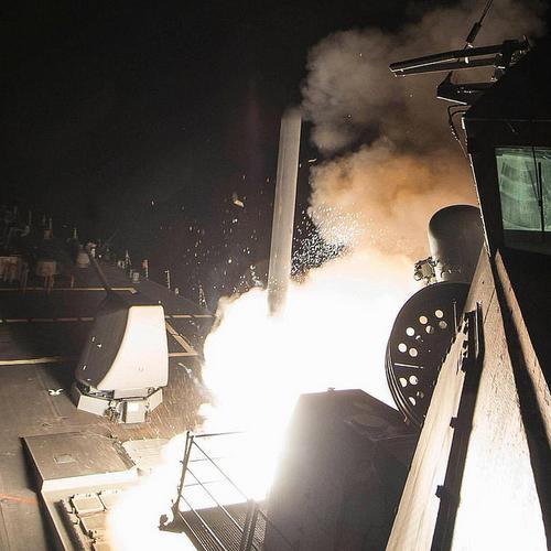 Trump's Syria Strikes see Geopolitical Risks Rise