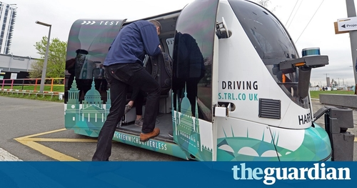 Driverless pods plot new course to overtake humans