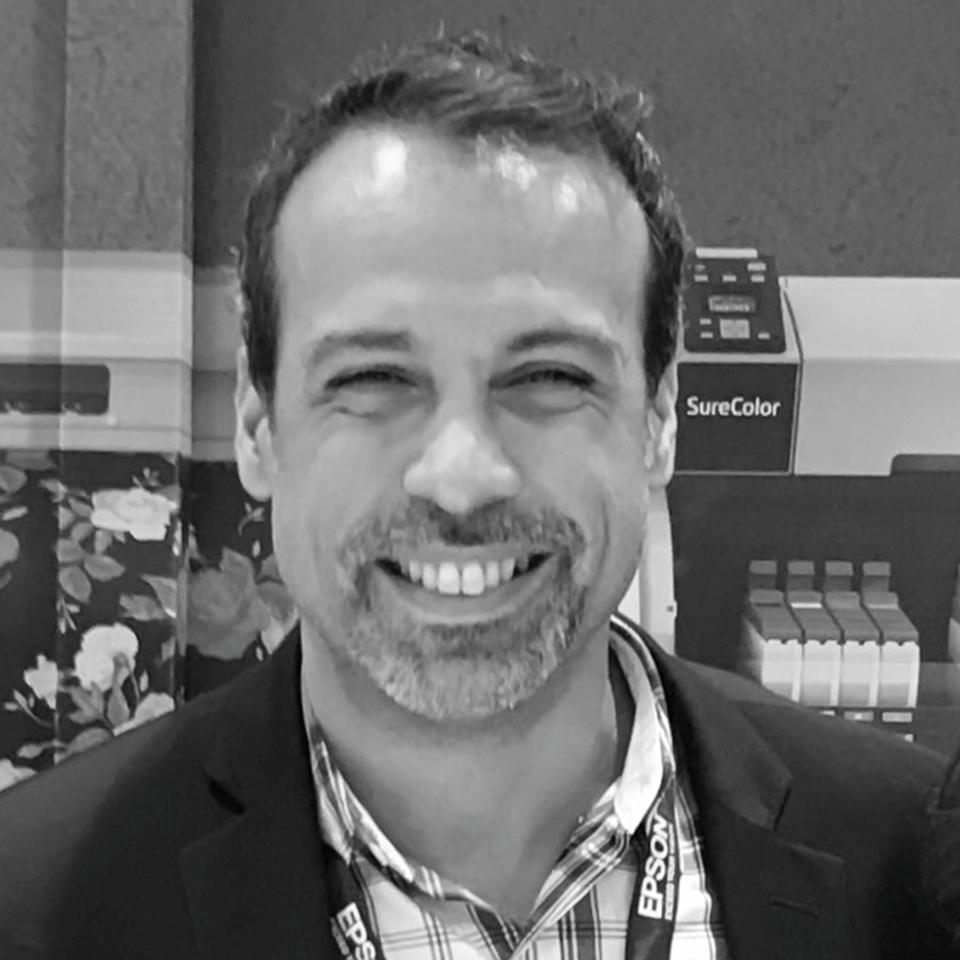 Gerardo Gordon (Textile Product Manager America Latina – EPSON)