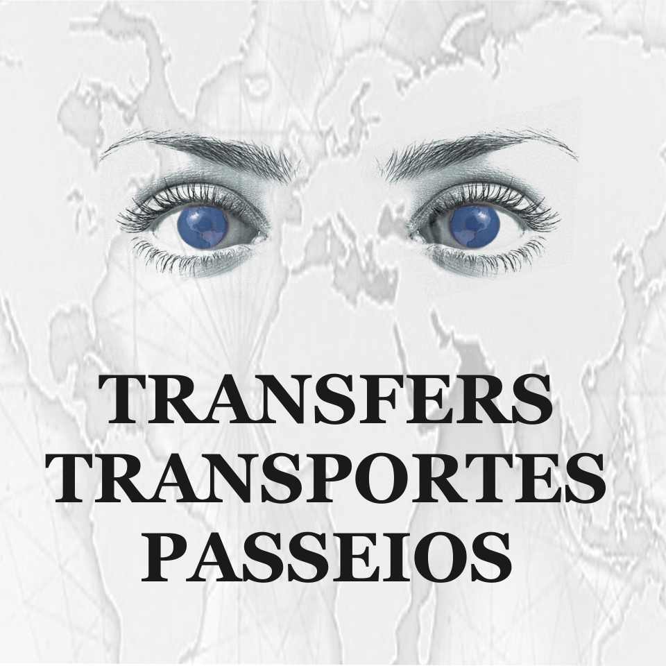 Transfers, Transportes internos, Passeios