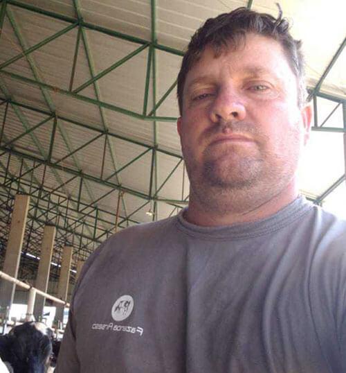 Eleandro Arsego, Produtor de Leite - Fazenda Arsego