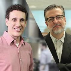 Samy Dana e Carlos Melo