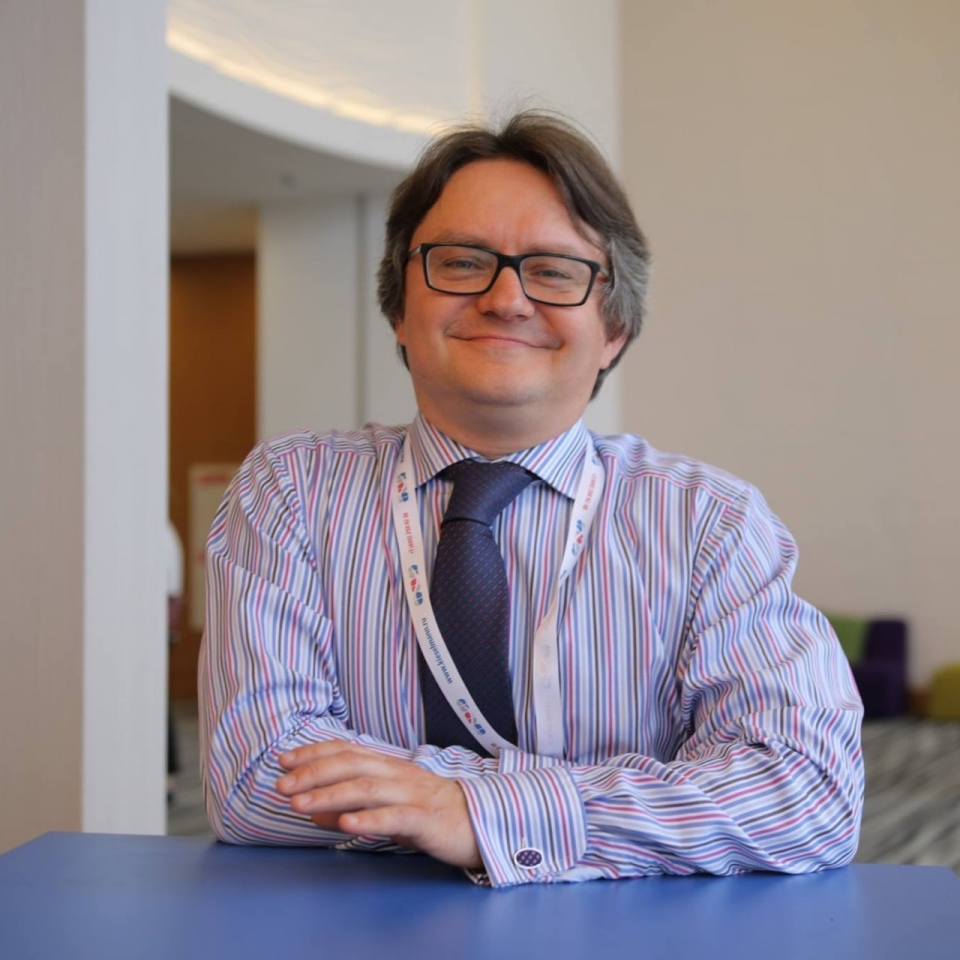 Mikhail Mishchenko, CEO of the Dairy Intelligence Agency (DIA) and the publisher of The DairyNews Informational Agency