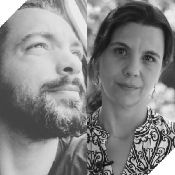 Robson Lunardi e Isabel Albornoz
