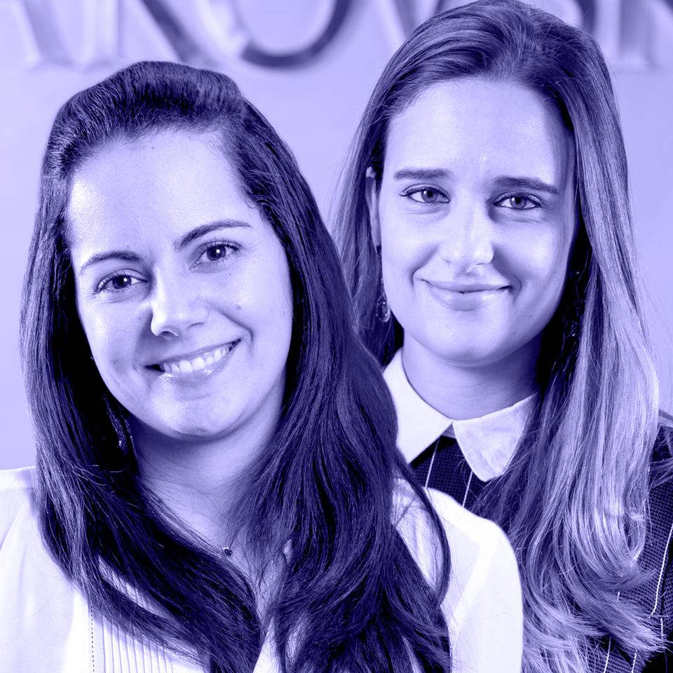 Ana Paula Limonge e Roberta Rabani