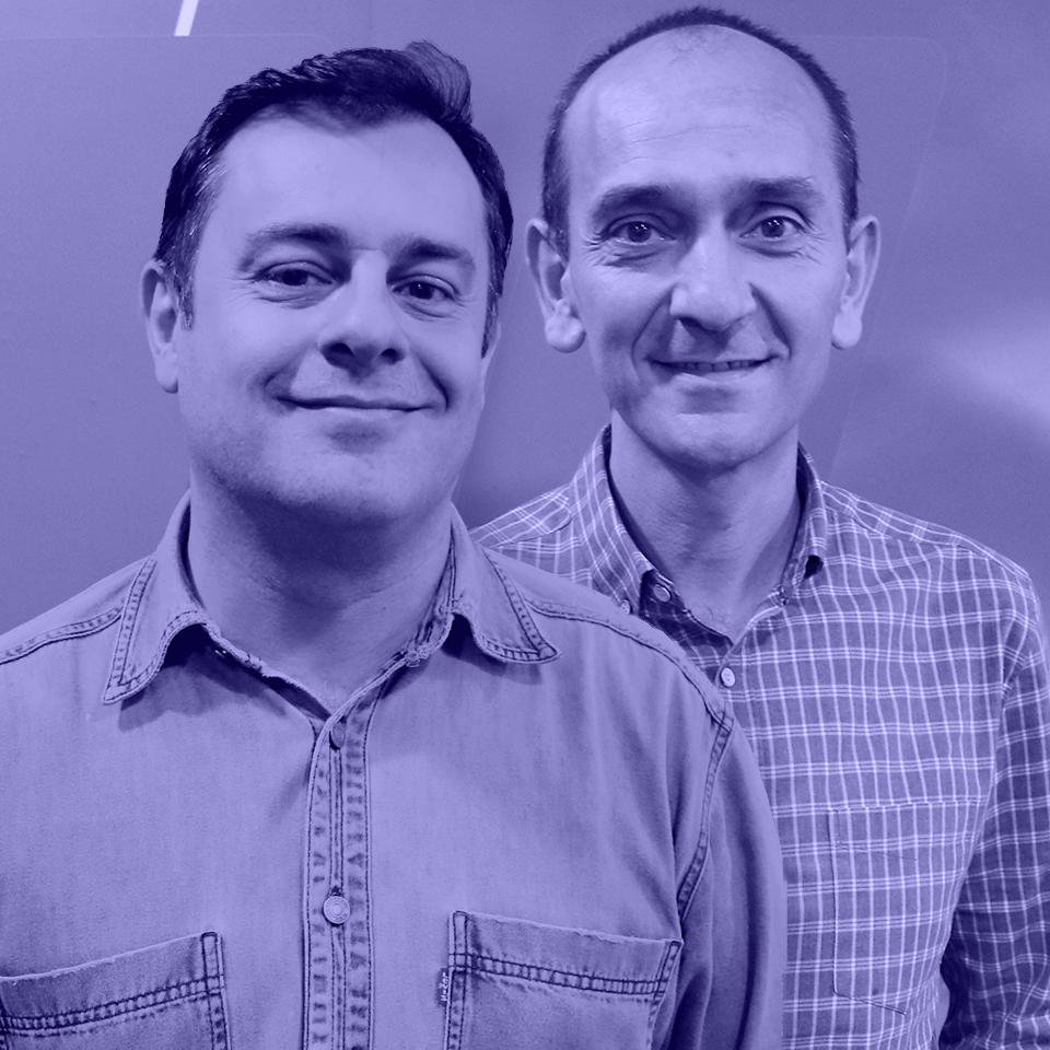 Marcus Pepe e Luis Escribano