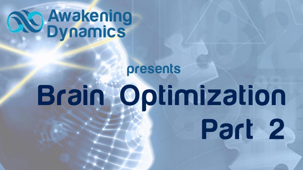 Brain Optimization Day 2