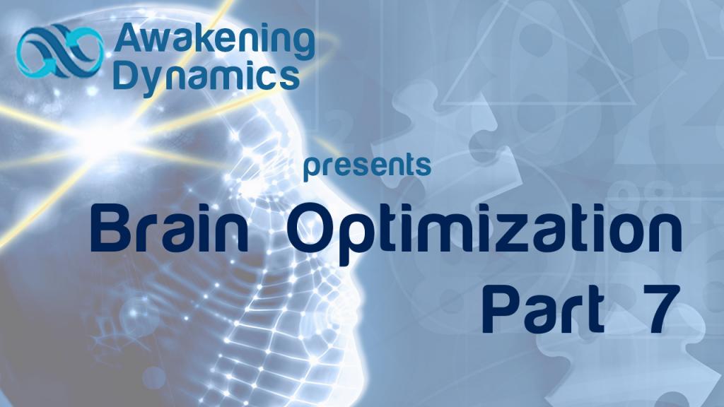 Brain Optimization Day 7