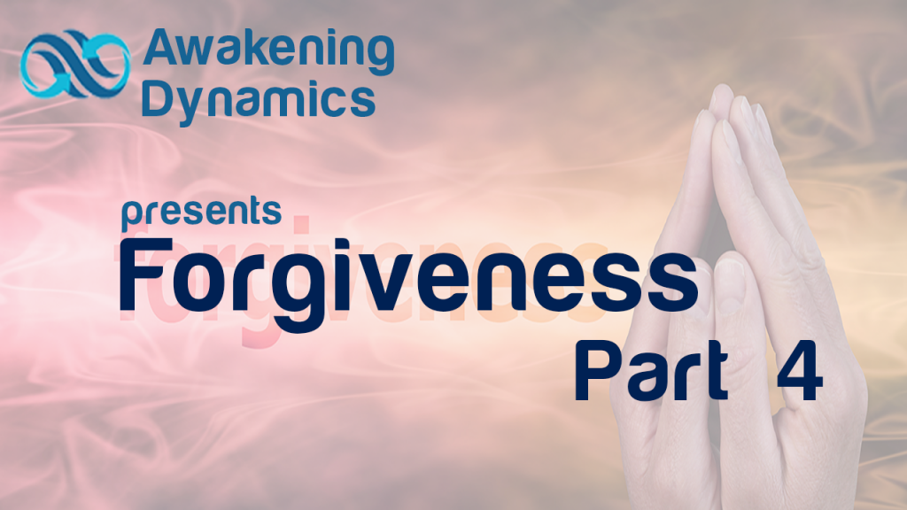 Forgiveness Day 4