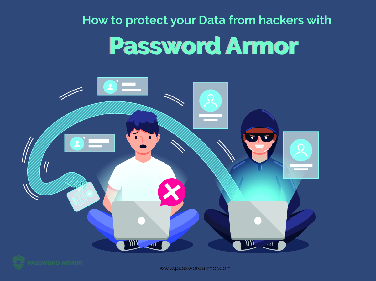 How to protect your Data from hackers with Password Armor