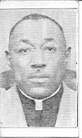 Image of Business card with image - Business card for Rev. H. Devereaux with photo on verso.