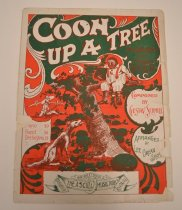Image of Coon up a Tree - A total of eleven original sheet music from 1897-1911