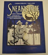 Image of Sneaky Pete - A total of eleven original sheet music from 1897-1911