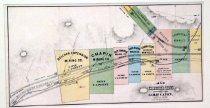 Image of Map of Comstock Lodes Extending Down Gold Ca¤on, Storey Co. Nevada - lithograph, map